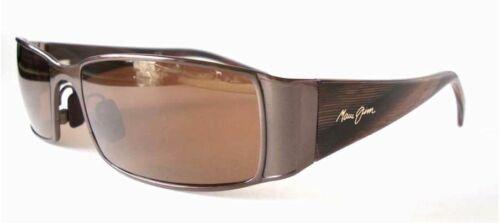 MAUI JIM Sunglasses NALU  Expresso w// HCL Bronze Polarized MJ122-19 NEW