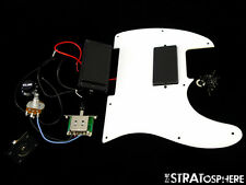 Fender Squier Jim Root HH Tele LOADED PICKGUARD Dual Humbuckers White