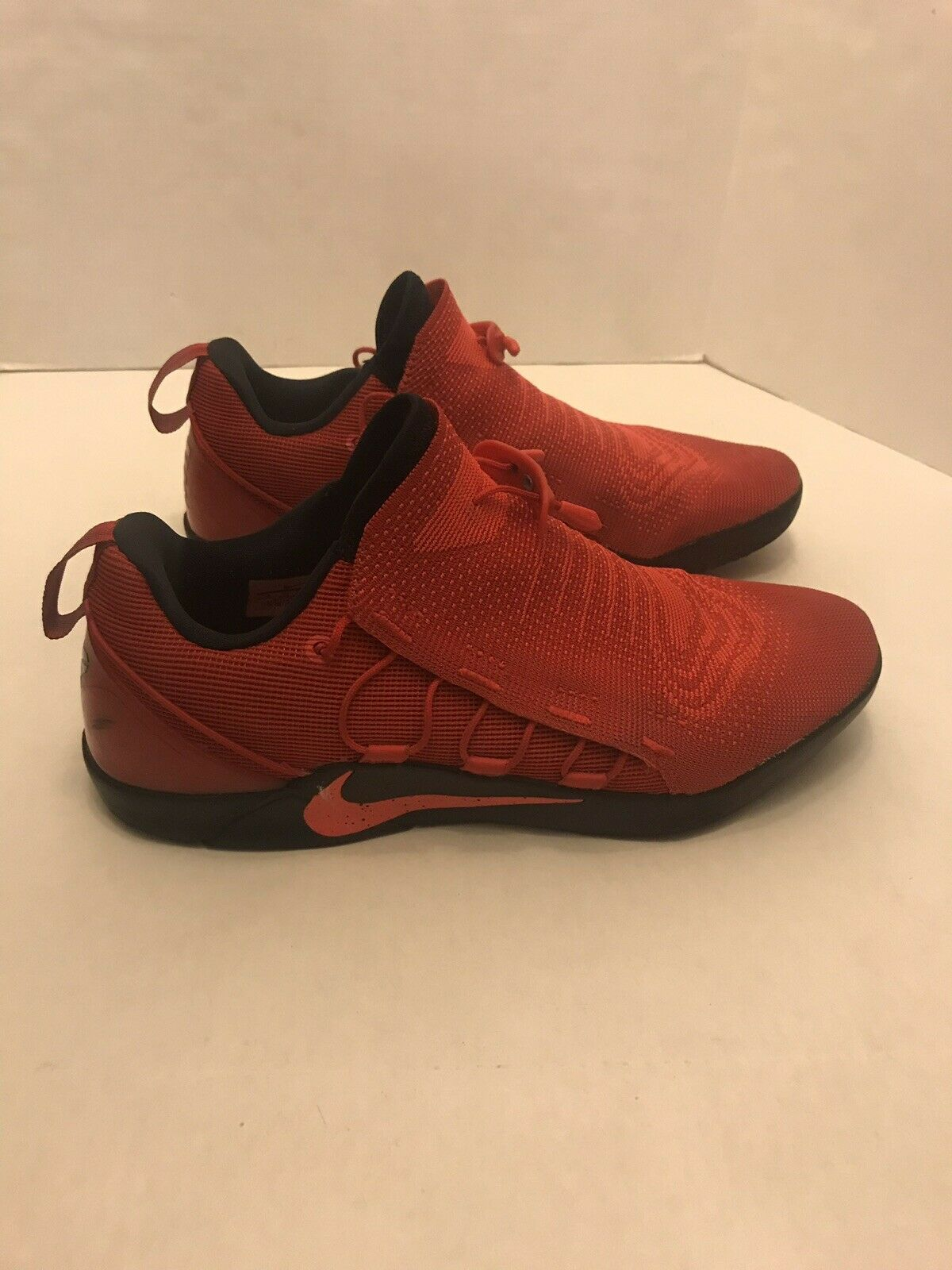 Nike Zoom Fly Men Size 13 Red Runner Sneakers Cleaned 882049-500
