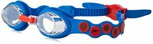 Speedo-Kids-Disney-Spot-Goggles-Neon-BlueLava-RedClear-One-Size