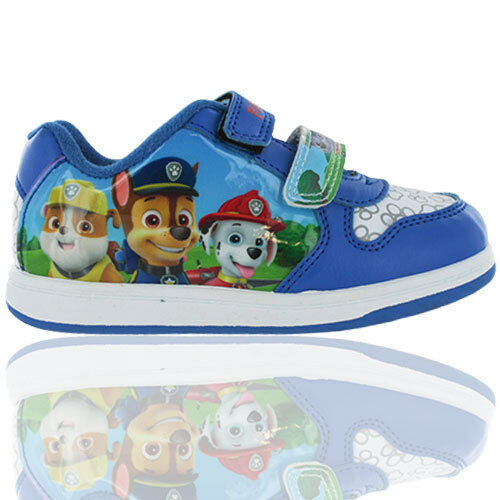 Boys Paw Patrol Mablehorepe Touch Fastening trainers Pumps Shoes Uk Size 5-10
