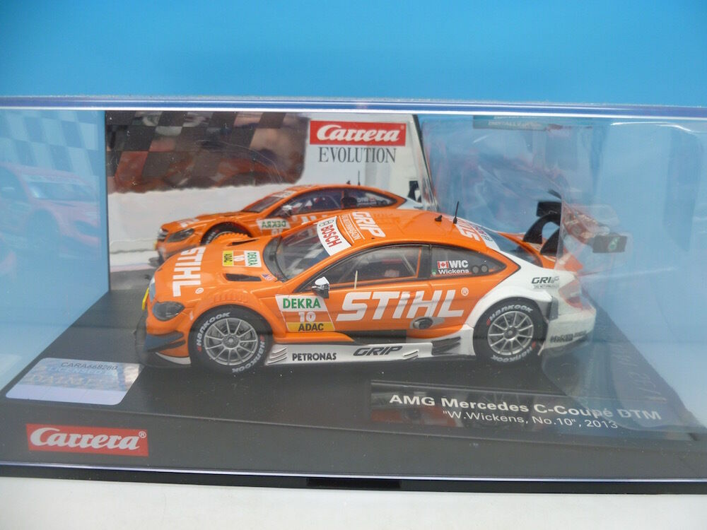 Carrera 27476 AMG Mercedes Coupe DTM, boxed, mint used once