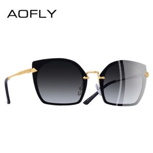 a5029a12cb Details about AOFLY brand design fashion cat eye, polarized sunglasses for  women