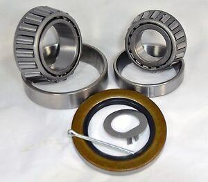 (Qty 2) K3-210 5200-7k lb.Trailer Kit 25580/20 14125A/14276 Bearings 10-10 Seal
