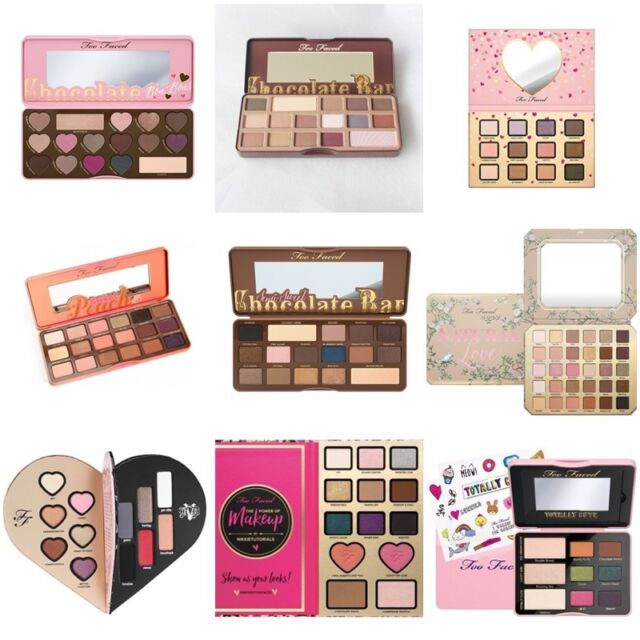 Too&Faced Sweet Peach / Bon Bons/Semi Sweet Eyeshadow /  Valentine's Day gifts