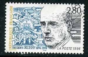 STAMP-TIMBRE-FRANCE-OBLITERE-N-2994-JACQUES-RUEFF