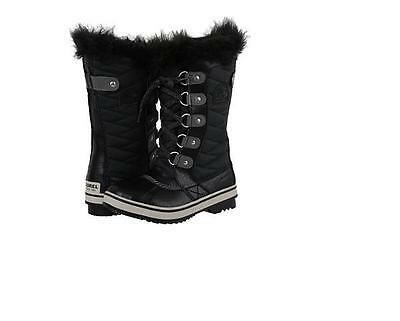 SOREL Youth/'s Tofino II Winter Boots NEW AUTHENTIC Black  NY2419-010
