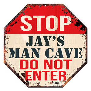 OTGM-0152-STOP-JAY-039-S-MAN-CAVE-Tin-Rustic-Sign-Man-Cave-Decor-Gift-Ideas