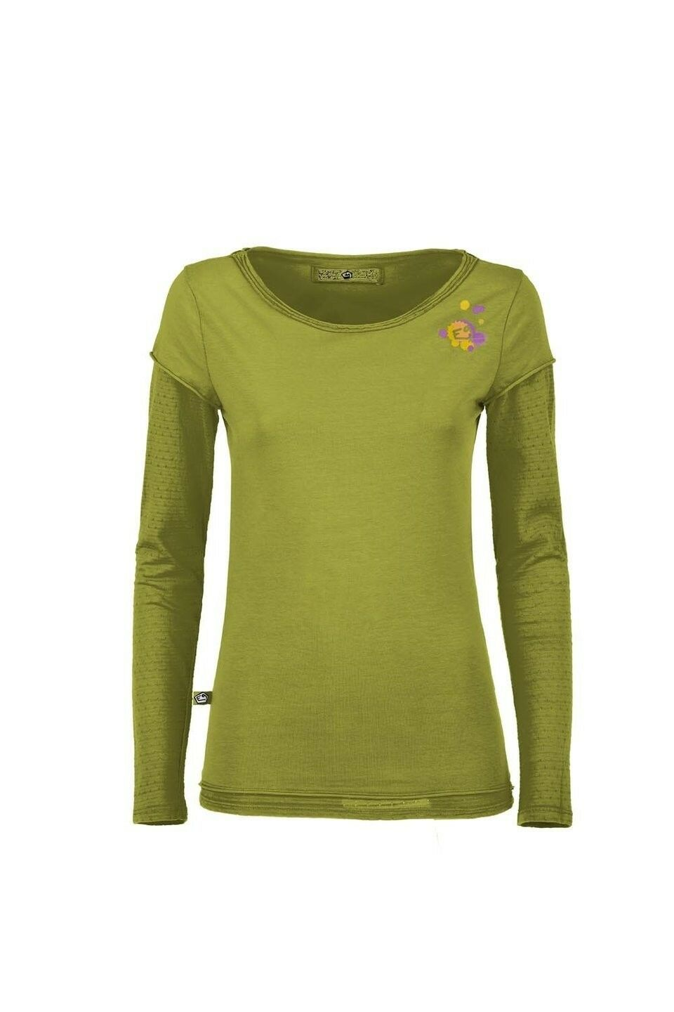 E9 Fede, Long  Sleeve T-Shirt for Ladies, Apple  welcome to choose