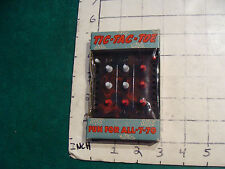 TIC-TAC-TOE fun for all-7-70.  1952 SEALED, very cool.
