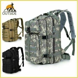 40L-Hiking-Camping-Bag-Army-Military-Tactical-Trekking-Rucksack-Backpack-Camo