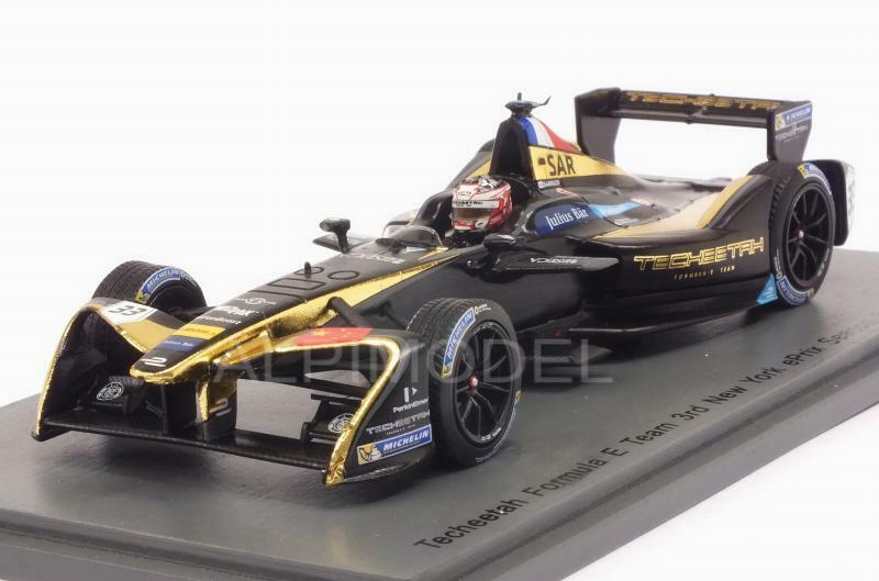Techeetah RD9 New York Formula E 2016-17 Stephane Sarrazin 1 43 SPARK S5917