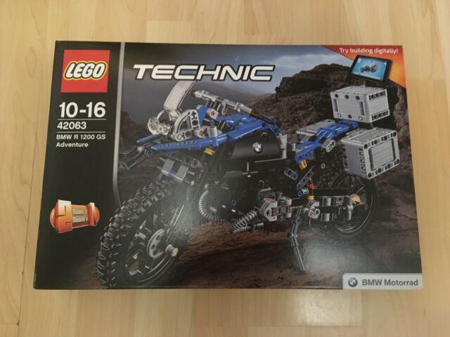 Lego 42063 BMW R 1200 GS Adventure - NEW