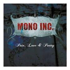MONO INC. Pain, Love & Poetry (Collector's Cut) CD Digipack 2013 + Bonustracks