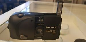 FUJIFILM-CLEAR-SHOT-SUPER-PANORAMA-35-mm-appareil-photo-compact-vintage-Point-amp-Shoot
