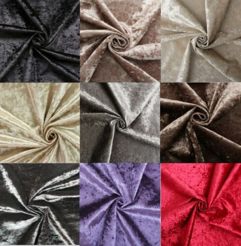 Crushed Velvet Upholstery Fabric Sofa Fabric /& Curtain Fabric