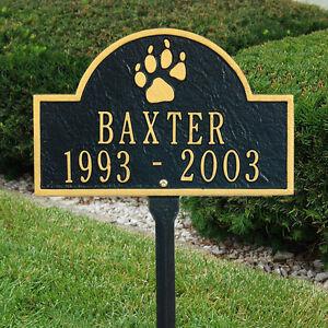 Dog-Paw-Mini-Arch-Pet-Memorial-Marker