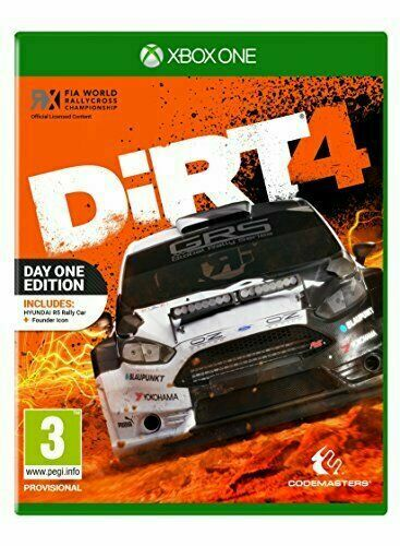 Dirt 4 Day One Edition Xbox One **NEW FACTORY SEALED**