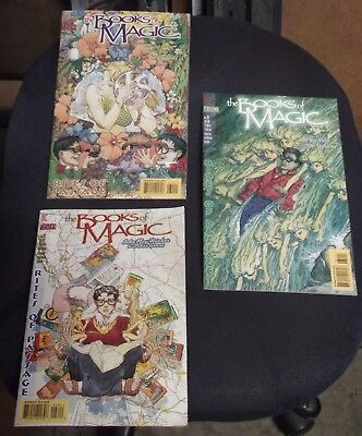 Modern Age (1992-now) Lot Of 3 The Books Of Magic Comic Books #28 30 31 Vertigo Rieber Gross Snejbjerg To Win Warm Praise From Customers Collectibles