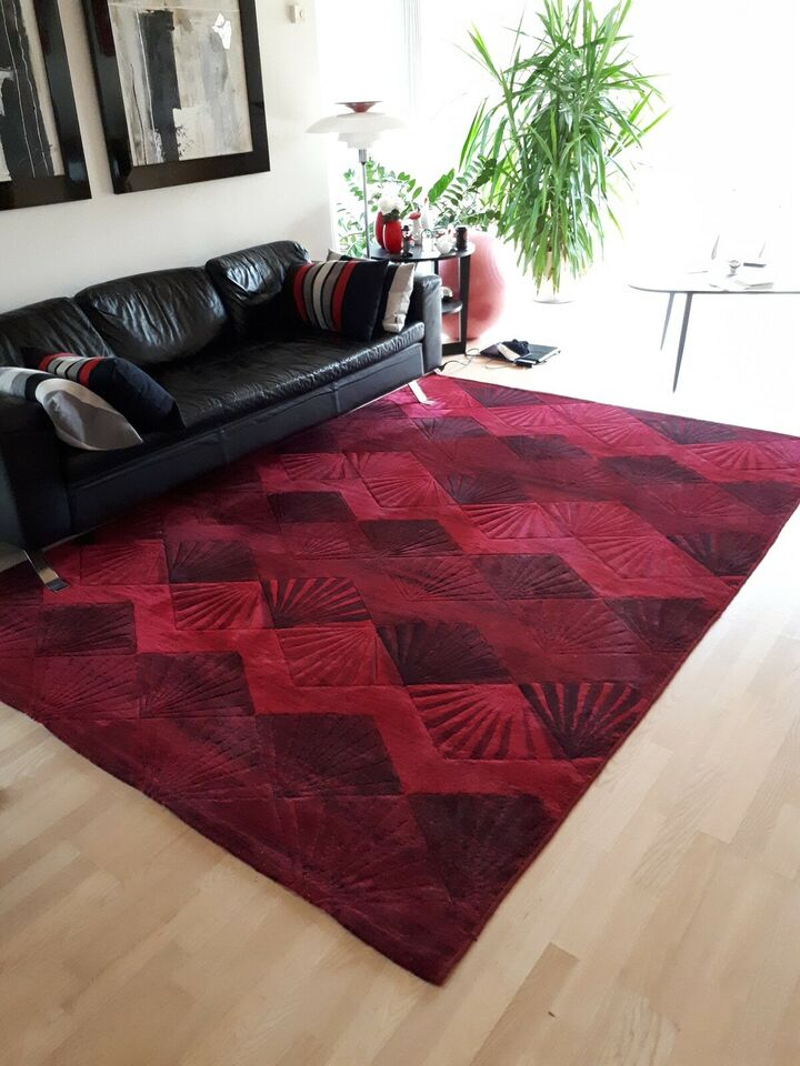 Tæppe - rødt