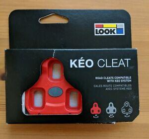 2 Max Genuine LOOK KEO Bi-Material Cleats fits Classic Blade Carbon 0° BLACK