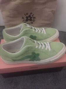 6f35e1300190 Converse One Star x Tyler Creator Golf Le Fleur Jade Lime Size 9