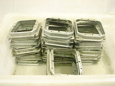 """RACO 769 4"""" SQUARE DEVICE RING 5/8"""" DEEP 8 CU. IN (LOT OF 37) **NNB**"""