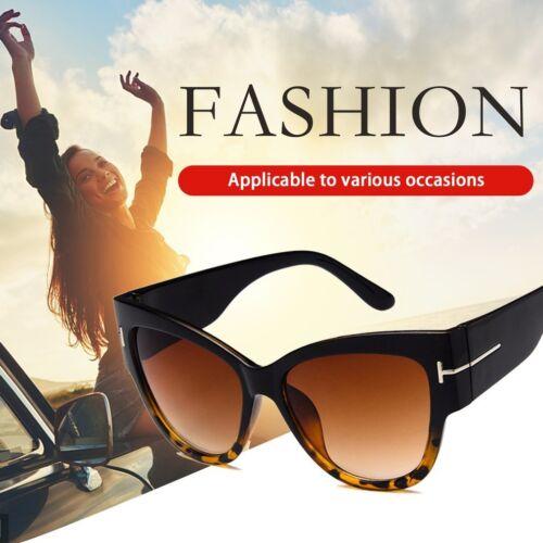 Fashion Letter T Large Frame Women Sunglasses Anti-UV Lady Sun Glasses Shades JO