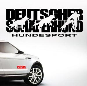 Details Zu Auto Aufkleber Deutscher Schäferhund Hundesport Schutzdienst Hunde Siviwonder