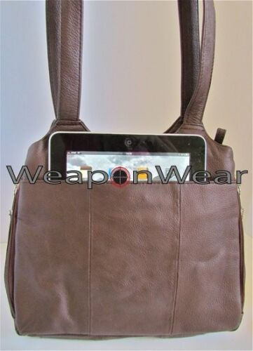 Concealed Carry Concealment Gun Purse Brown Holster Plus GIFT