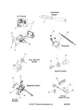 Polaris ASMCONTROL LH REV 2010371 New OEM