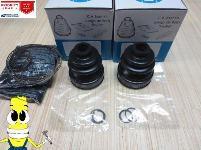 For 2 Inner /& 2 Outer CV Boot Kits Empi for Honda Odyssey 2005-2006