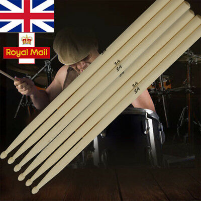 5A Drum sticks Maple High Quality Wood Percussion Instrument Pairs 1//3//6//10