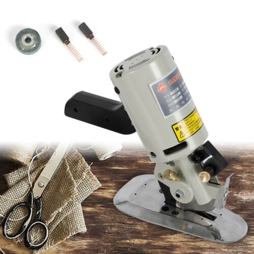Round Electric Cloth Cutter Cutting Machine Rotary Blade 90mm Fabric Octa Scisso