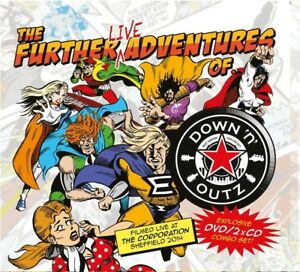 DOWN-N-039-OUTZ-THE-FURTHER-LIVE-ADVENTURES-OF-DELUXE-EDITION-2-CD-DVD-NEW
