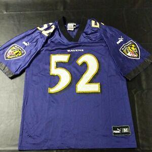 Details about Rare Vintage Puma Baltimore Ravens Ray Lewis NFL Jersey Men's Medium