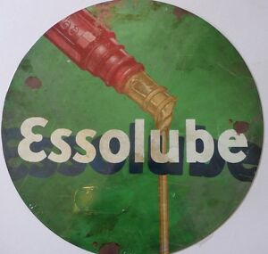 ESSOLUBE-Auto-Memorabilia-All-Weather-Tin-Sign