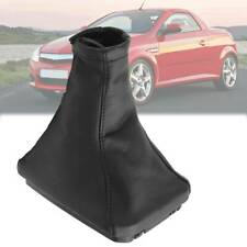 FITS VECTRA B GEAR HANDBRAKE GAITER COVER BOOT BLACK WHITE