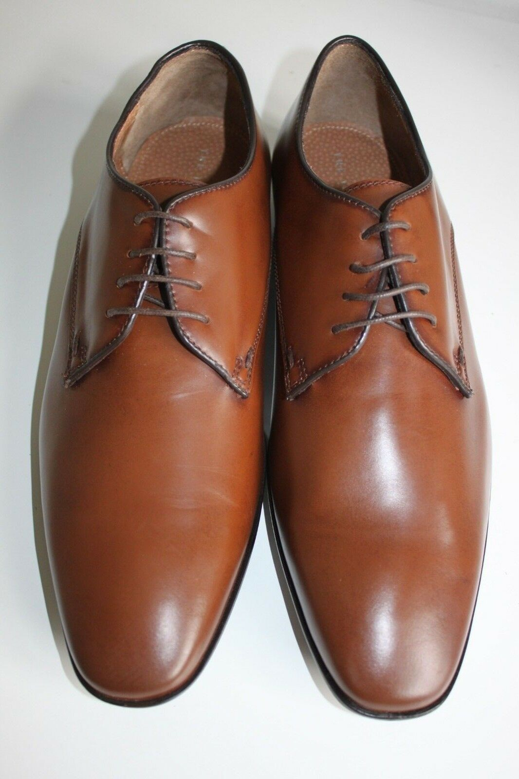 THE IDLE MAN Tan Leather Smart Lace shoes - Size  ()