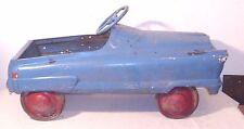 ANTIQUE 1950s AUTOMOBILE PEDAL CAR TO RESTORE