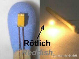 SMD-LED-0603-SUPER-GOLDEN-WHITE-ROTLICH-Cu-Draht-reddish-extra-warm-colour