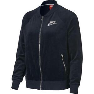 da8e2f70e516 921149-475 New with Tag Nike Women sportswear Velour full zip Jacket ...