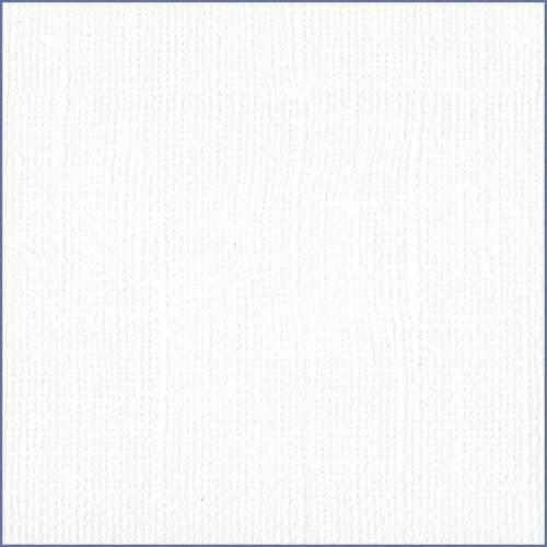 Bazzill Mono 12x12 Cardstock BAZZILL WHITE
