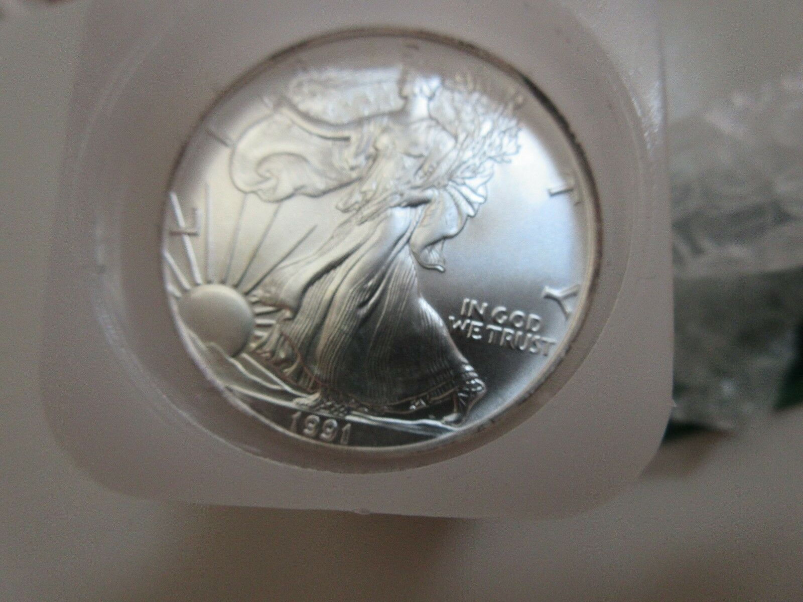 1991 , Eagles , Uncirculated , Roll of 20 Coins