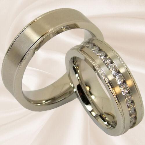 Eheringe Verlobungsringe Freundschaftsringe Hochzeitsringe 6,5 mm mit Gravur