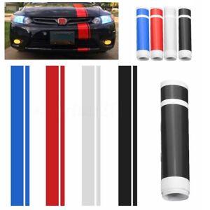 6-034-x-50-034-Car-Hood-Stripe-Auto-Graphic-Decal-Vinyl-Car-Truck-Body-Racing-Stickers
