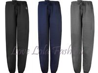 Womens Joggers Tracksuit Bottoms Loose Fit Gym Dance Jogging Pants Warm Cotton