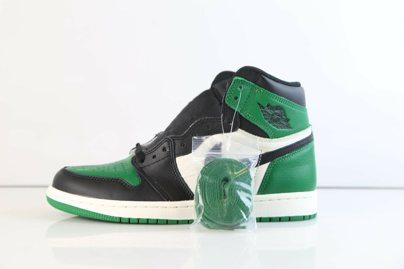 Nike Air Jordan Retro 1 High OG Pine Pine Pine verde Sail nero 555088-302 8-14 summit 3 1 e7e416
