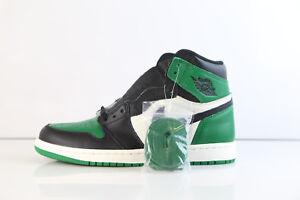 a71d6fccd29b42 Nike Air Jordan Retro 1 High OG Pine Green Sail Black 555088-302 8 ...