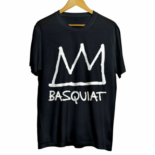 Jean-Michel Basquiat SAMO American Artist Black T-shirt Cotton #Rid